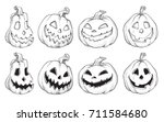 cartoon vector illustration of... | Shutterstock .eps vector #711584680