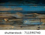 texture. old painted boards.... | Shutterstock . vector #711590740