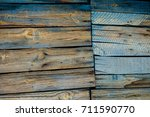 texture. old painted boards.... | Shutterstock . vector #711590770