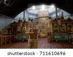 old believer church of st.... | Shutterstock . vector #711610696