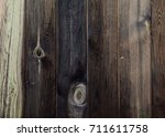 the texture of the wood. an old ... | Shutterstock . vector #711611758