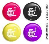 global data multi color glossy...
