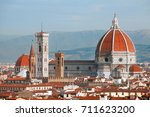 florence cathedral duomo | Shutterstock . vector #711623200