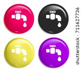 tap water multi color glossy...