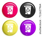 recycle bin multi color glossy...
