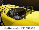 shelby cobra 289 fia replica ... | Shutterstock . vector #711634510