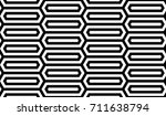 seamless pattern with black... | Shutterstock .eps vector #711638794