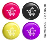 buy multi color glossy badge...