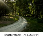 road to forest | Shutterstock . vector #711650644