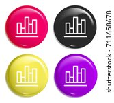 bar chart multi color glossy...