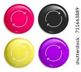 reload multi color glossy badge ...