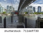 vancouver  british columbia ... | Shutterstock . vector #711669730