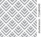 editable seamless geometric... | Shutterstock .eps vector #711684340