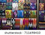 klungkung traditional markets ... | Shutterstock . vector #711698410