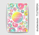 abstract template design.... | Shutterstock .eps vector #711700924