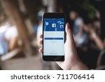 chiang mai  thailand   july 30  ... | Shutterstock . vector #711706414