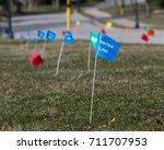 Utilities Location Flag Markin...
