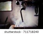 Streamer machine - stock photo