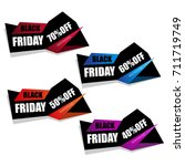 black friday | Shutterstock .eps vector #711719749