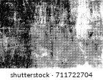 vintage black and white... | Shutterstock . vector #711722704