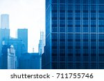architectural complex against...   Shutterstock . vector #711755746