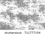 vintage black and white... | Shutterstock . vector #711777154
