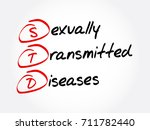 std   sexually transmitted... | Shutterstock .eps vector #711782440
