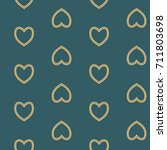 seamless pattern with nice... | Shutterstock . vector #711803698