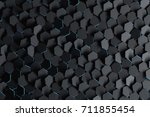 abstract background with black... | Shutterstock . vector #711855454