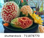 Fruit Carving   Thai Hand Made