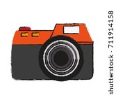 photographic camera icon image | Shutterstock .eps vector #711914158