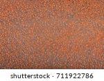 rusty steel background  | Shutterstock . vector #711922786