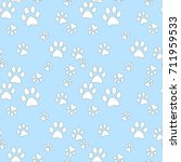 vector seamless pattern with... | Shutterstock .eps vector #711959533