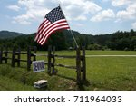 country church revival | Shutterstock . vector #711964033