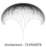 flat vector computer generated  ... | Shutterstock .eps vector #711965878