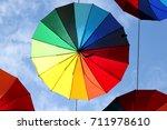 photo of beautiful multi... | Shutterstock . vector #711978610