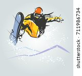 vector illustration of... | Shutterstock .eps vector #711986734