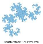 flat vector computer generated  ... | Shutterstock .eps vector #711991498