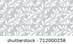 floral seamless pattern.... | Shutterstock .eps vector #712000258