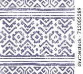 seamless geometric pattern.... | Shutterstock .eps vector #712005289
