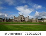 lowther castle at penrith in...   Shutterstock . vector #712013206