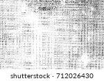 black and white dark grunge... | Shutterstock . vector #712026430