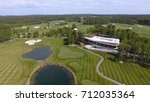 golf course on a sunny day  an... | Shutterstock . vector #712035364