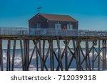 belmar  nj usa    september 9 ... | Shutterstock . vector #712039318