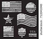 Vintage Usa American Grunge...