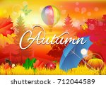 fall. | Shutterstock .eps vector #712044589