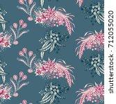 modern zendoodle rapport.... | Shutterstock .eps vector #712055020