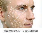 machine learning systems... | Shutterstock . vector #712068100