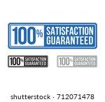 modern satisfaction guaranteed... | Shutterstock .eps vector #712071478