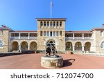 perth mint building  one of... | Shutterstock . vector #712074700